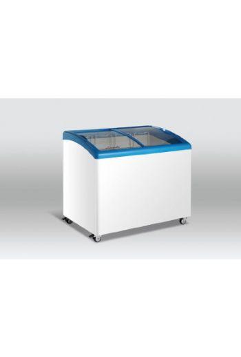 Scandomestic SD306 jäätelö arkkupakastin lasikannella 200L