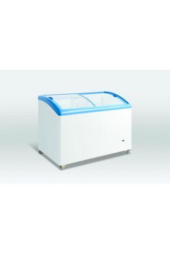 Scancool SD352 jäätelöpakastin lasikannella 260L