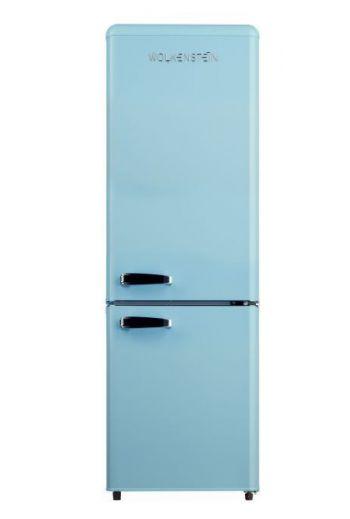 WOLKENSTEIN KG250.4RTLB retro jääkaappi-pakastin 178cm, vaaleansininen