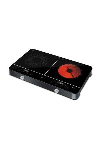 Sencor SCP4001BK keraaminen+induktio pöytäliesi, kaksi aluetta