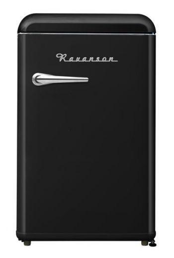 Ravanson LKK120RB musta jääkaappi 90cm