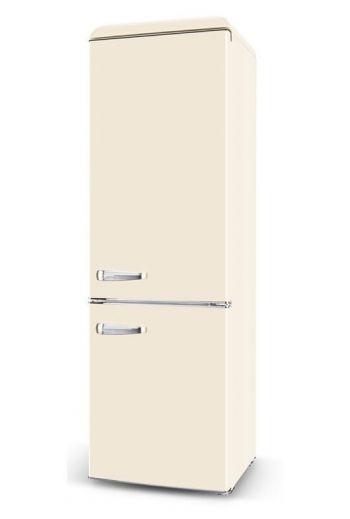 Schlosser BC258VX retro beige jääkaappipakastin 188cm