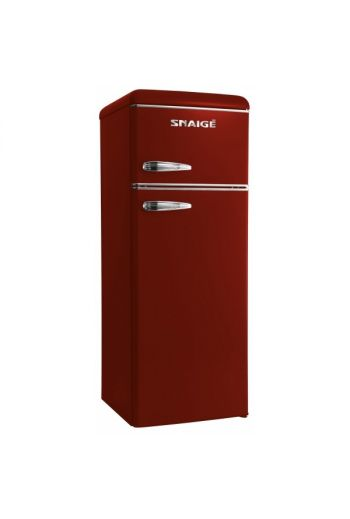 SNAIGE FR24SM-PRDO0E bordoon punainen retro jenkkikaappi 148 cm
