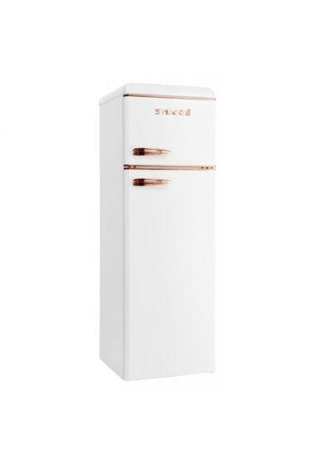 SNAIGE FR27SM-PROC0F valkoinen/kupari retro jenkkikaappi  173 cm