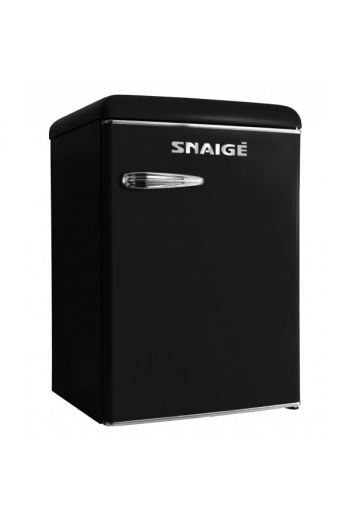 SNAIGE R 13SM-PRJ30F musta retro jääkaappi 89cm