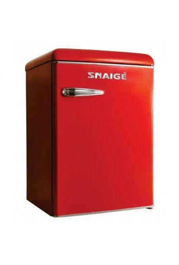 SNAIGE R 13SM-PRR50F punainen retro jääkaappi 89cm