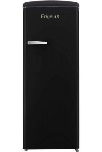 Frigelux RF218RNA musta retro jääkaappi 146 cm