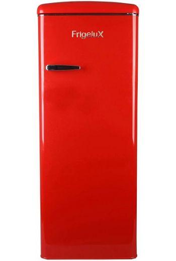 Frigelux RF218RRA punainen retro jääkaappi 146 cm