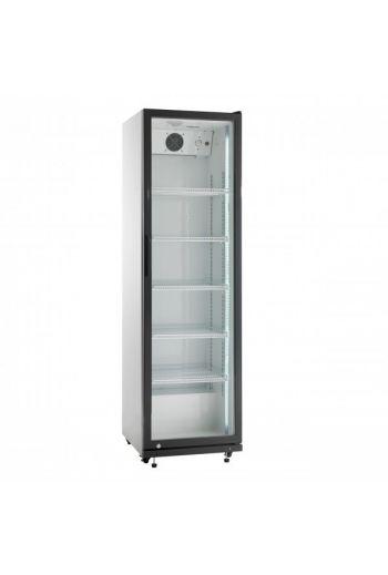 Scandomestic SD430E jääkaappi lasiovella 198 cm