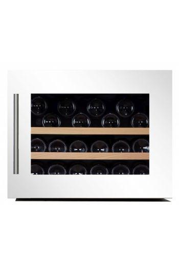 Dunavox DAB28.65W integroitava valkoinen viinikaappi 65L