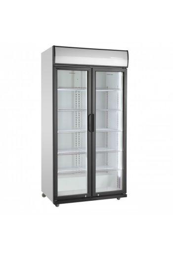Scandomestic SD881HE jääkaappi lasiovella 200 cm